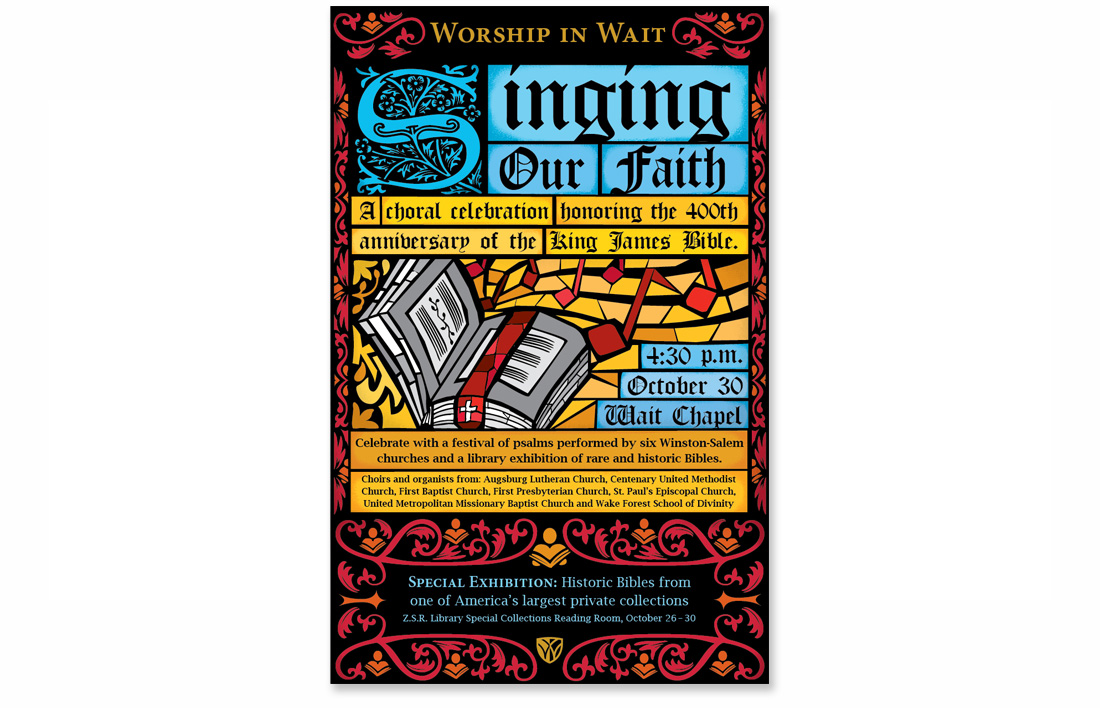Singing our Faith poster
