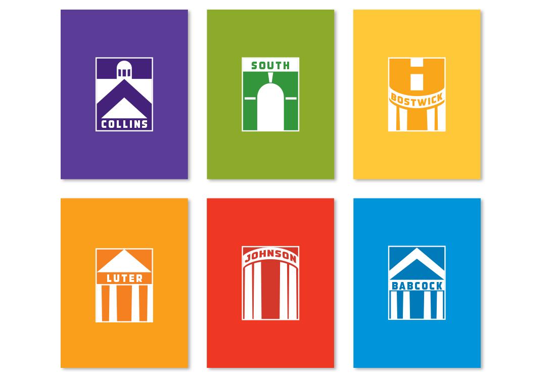 Dorm Branding logos